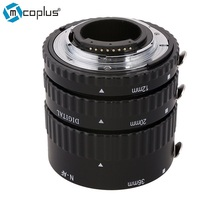 Mcoplus N-AF-Металл Маунт Автофокус AF Макрос Удлинитель для Nikon D7100 D7000 D5300 D800 d750 D600 DSLR Камера