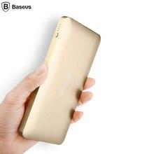 Baseus Double USB Power Bank 10000 mAh Externe Batterie Portable Rapide Mobile Téléphone Chargeur Pour iPhone 7 6 Samsung Xiaomi Powerbank