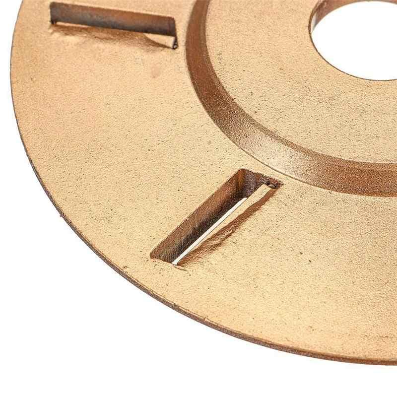 90 мм H16 копания шлифовальный станок дерево турбо плоская Деревообработка инструменты вложения фреза инструмент для 16 мм Диафрагма угловая шлифовальная машина