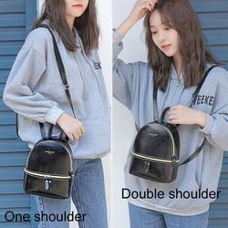 Torby szkolne dla nastoletnich dziewcząt torba na ramię plecak dla kobiet mały mochila mujer, skórzany plecak, plecak plecak szkolny college sac dos 6