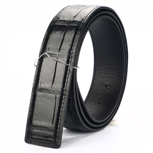 [BATOORAP] 2017 High Quality Men Belt Crocodile leather Belts Luxury Brand Designer Black/Brown