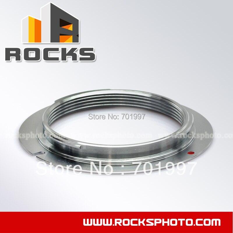 Pixco Suit Mount Adapter Ring pour M42 Lens pour Pentax PK K mont caméra argent K-50 - II K-30 K-01 K K - r K - x K-7 K - m K20D K2