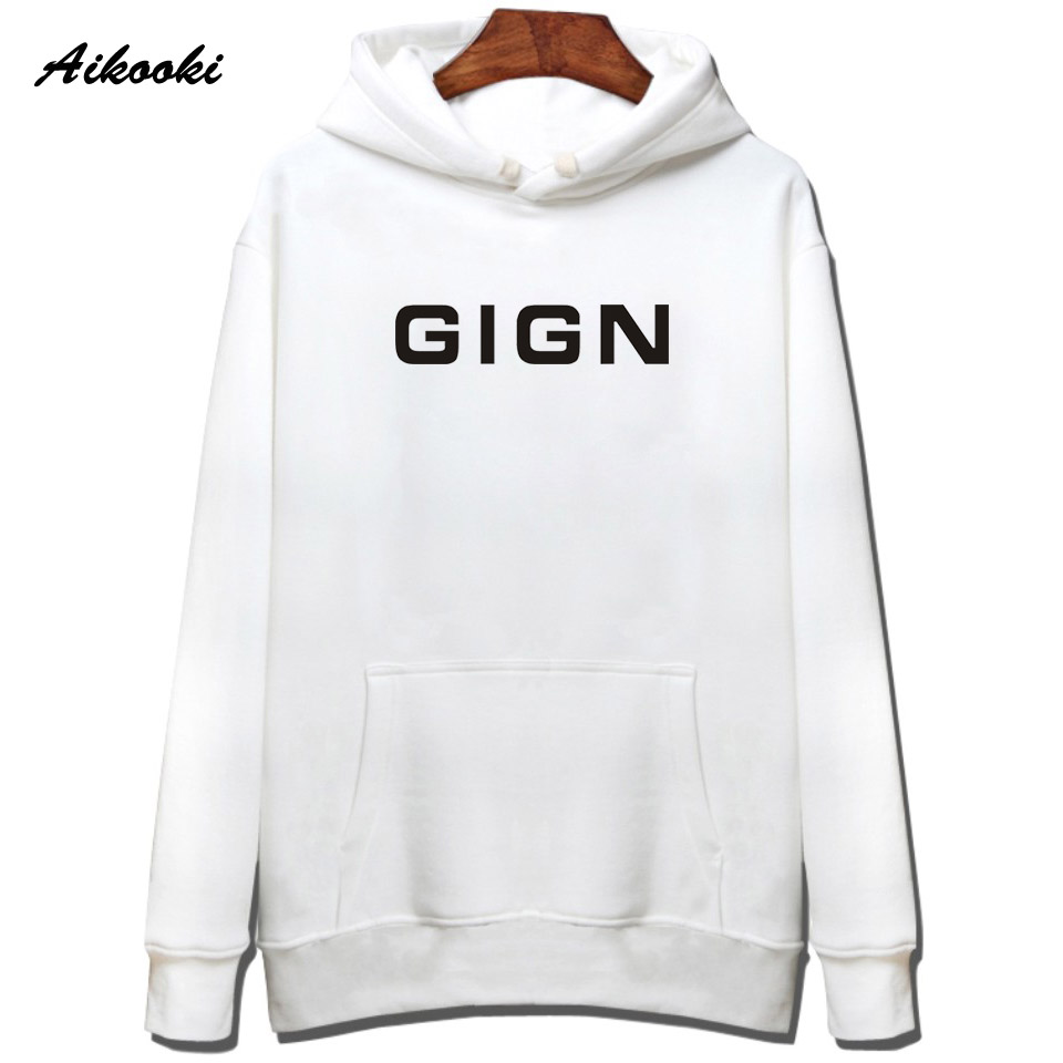 BRI Police GIGN 2018 Fashion Men New Hoodies men/women GIGN Cotton mens Hoodies Hip HOP  ...