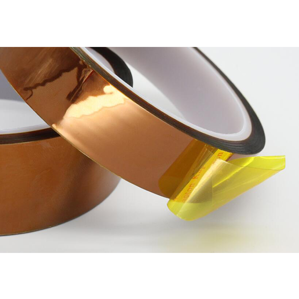 1Pc Width 10/12/15/18/20/25/30mm Length 30M Heat Resistant Polyimide Tape High Temperature Adhesive Insulation Kapton Tape