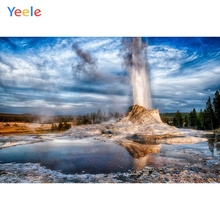 Yeele Cloudy Sky Photographic Backgrounds Fountain Lakes Landscape Wedding Photography Backdrops For The Photo Studio Shoots