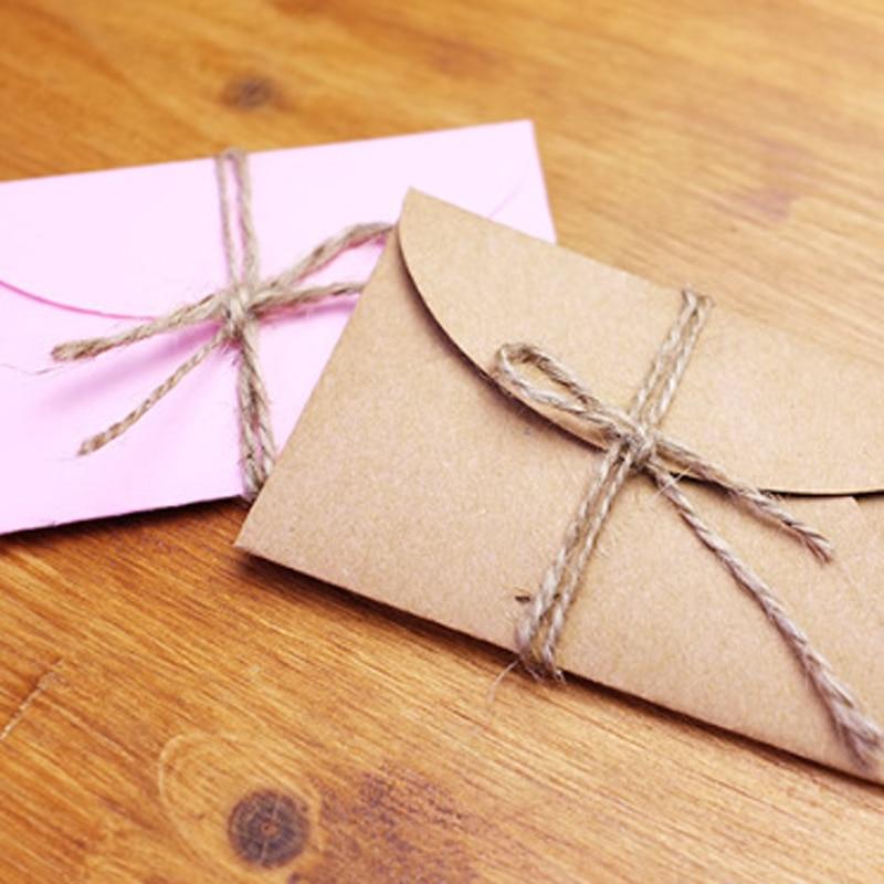 Открытка из коричневой бумаги