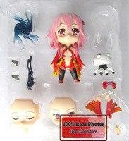 10cm Japanese Anime Figure Cute Nendoroid Model Guilty Crown 240# Yuzuriha Inori Decoration Doll PVC Action Figure
