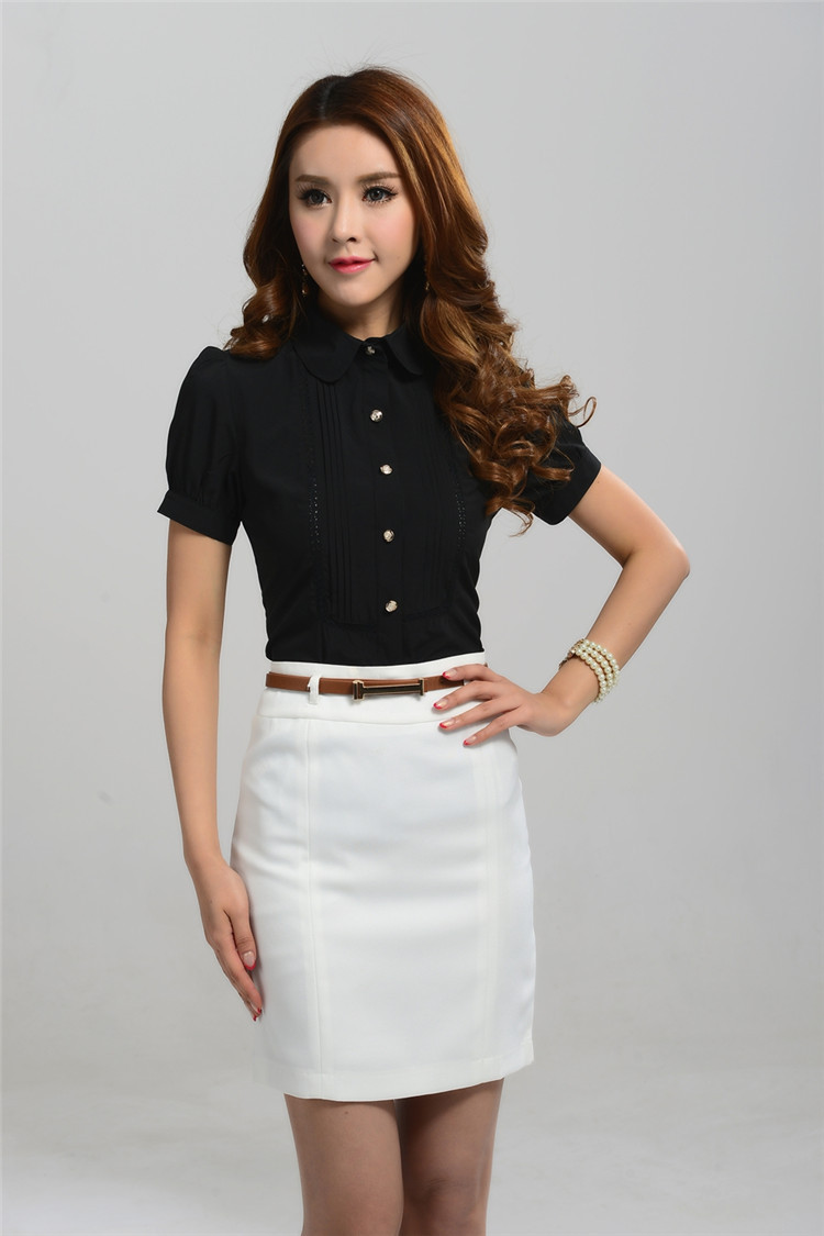 Us 32 7 New 2015 Summer Formal Women Suits With Skirt And Blouse Twinsets Ladies Business Suits Female Office Uniform Style Work Wear In Skirt Suits