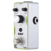New ENO Fuzz Bmf Distortion Guitar Pedal Electric Guitar Effect Pedal Full Metal Shell True Bypass Guitar Parts & Accessories