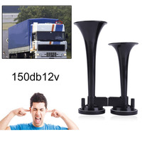 New Modified 12V Truck Train Boat RV 150db Super Loud Dual Trumpet Air Motorcycle Car Truck