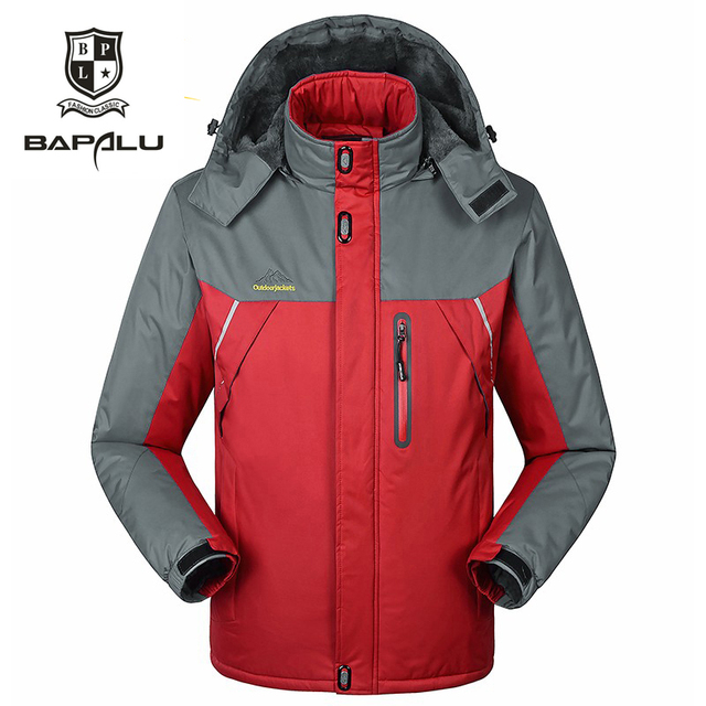 new winter big yards size L-6XL7XL8XL9XL Plus thick velvet Men's coat jacket Wind and waterproof warm Cold casual jacket