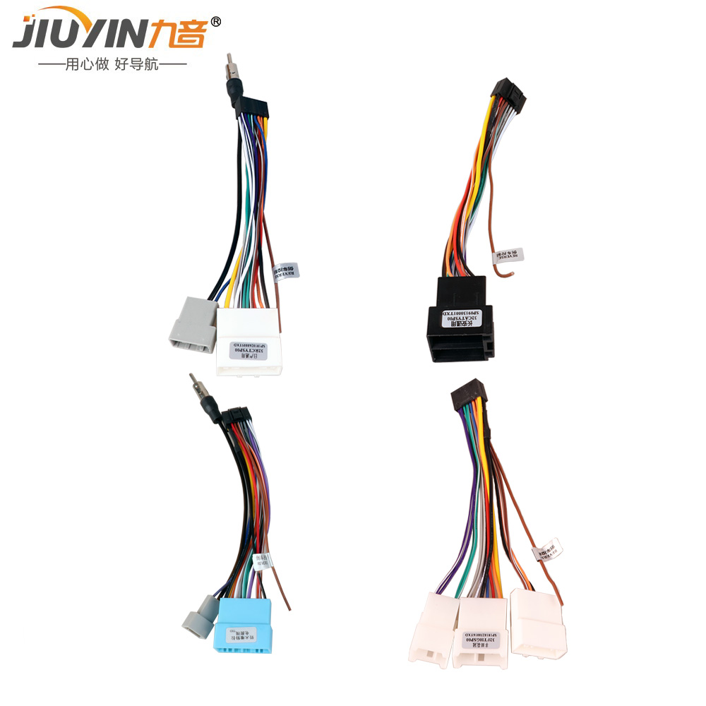 US $14.99 |JIUYIN Car Head Unit Wire Harness Adapter For Volkswagen on