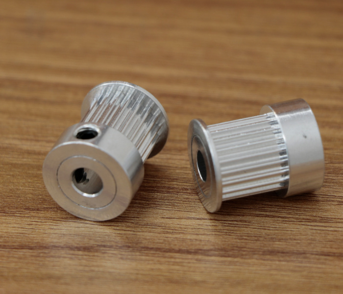 3d printer pulley aluminum timing 2GT 20teeth bore 4mm 5mm 6mm 6.35mm 8mm for GT2 belt width 9mm 1pcs