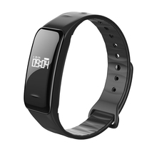 C1 Bluetooth Smart Браслет Спорт напоминание браслет сердечного ритма Monitores импульса Presión arterial для телефона Android
