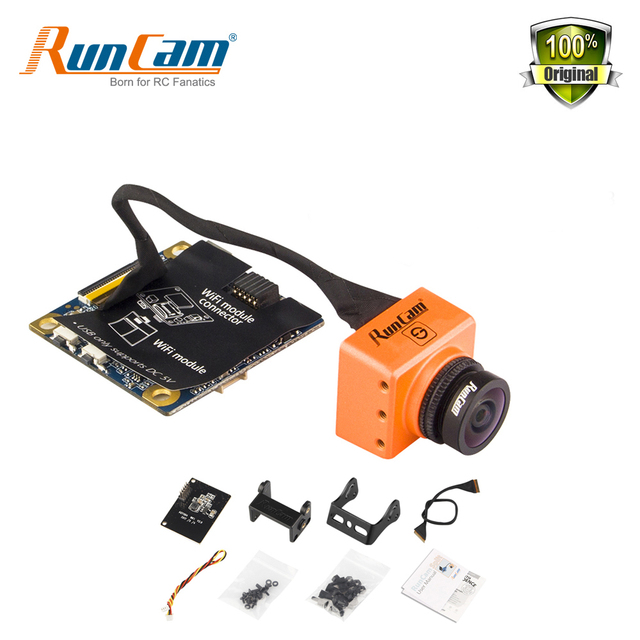 US $74 99 |Runcam Split WDR FPV Camera 1080P 60fps HD Recorder WiFi  Optional NTSC PAL Low Latency TV out for RC Drones FPV Quadcopter-in Parts  &