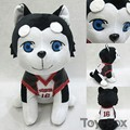 Аниме Kuroko нет корзины куроко Tetsuya № 2 щенки мультфильм Q 20'33'38cm плюшевые куклы детей детское игрушки детям подарок