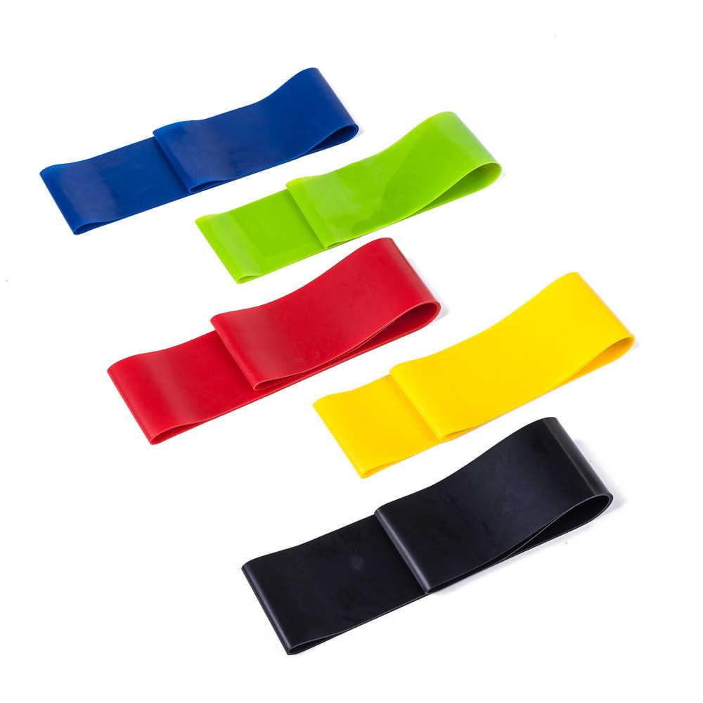 Latex Yoga gymnastique musculation entraînement équipement de Fitness boucles en caoutchouc bandes de caoutchouc gomme pour extenseur de forme physique bandes élastiques