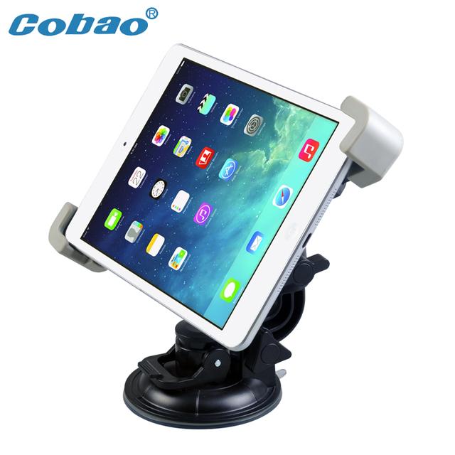 360 graus de rotação ventosa car desk top mount holder suporte para ipad 1/2/3/4 de 7 polegada-11 polegada tablet pc