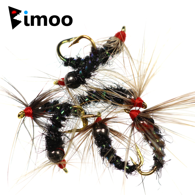 -TUNG-50 16 TUNGSTEN HEAD NYMPHS FOR FLY FISHING 4 MODELS