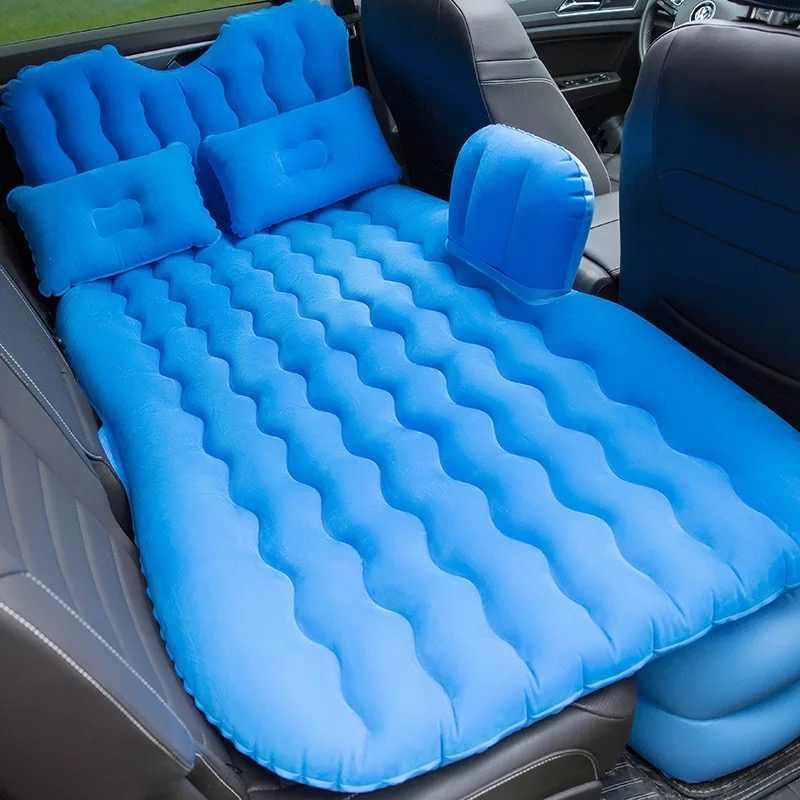 2018 высокое качество, хит продаж, чехол на заднее сиденье автомобиля, матрас для путешествий, надувная кровать с насосом