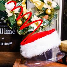 7cb3e82a3eded Christmas Decorating Children s Adult Christmas Hat Spring Cap For Adult  Reusable christmas decorations for home C30726