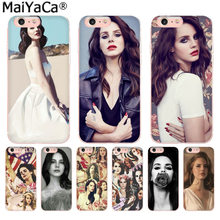 MaiYaCa Beautiful Lana Del Rey Sexy Luxury High-end phone Case for iphone 11 pro 8 7 66S Plus X 10 5S SE XS XR XS MAX(China)