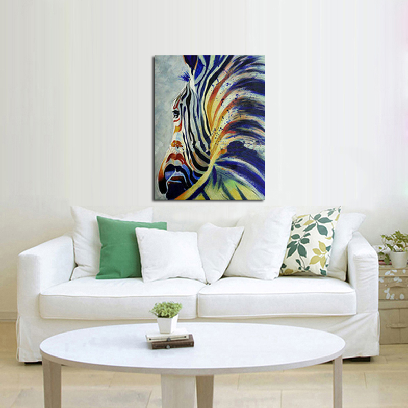 Online Get Cheap Zebra Paintings Alibaba