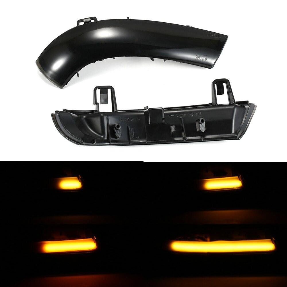 Clignotant LED dynamique mark fumé rétroviseur latéral clignotant séquentiel clignotants pour VW Golf 5 Jetta MK5 Passat B6