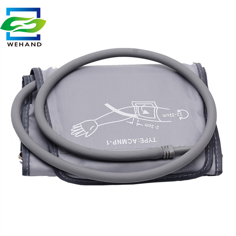 Hot Sale 22-32cm or 22-48cm arm Cuff for blood pressure meter cuff with Single tube