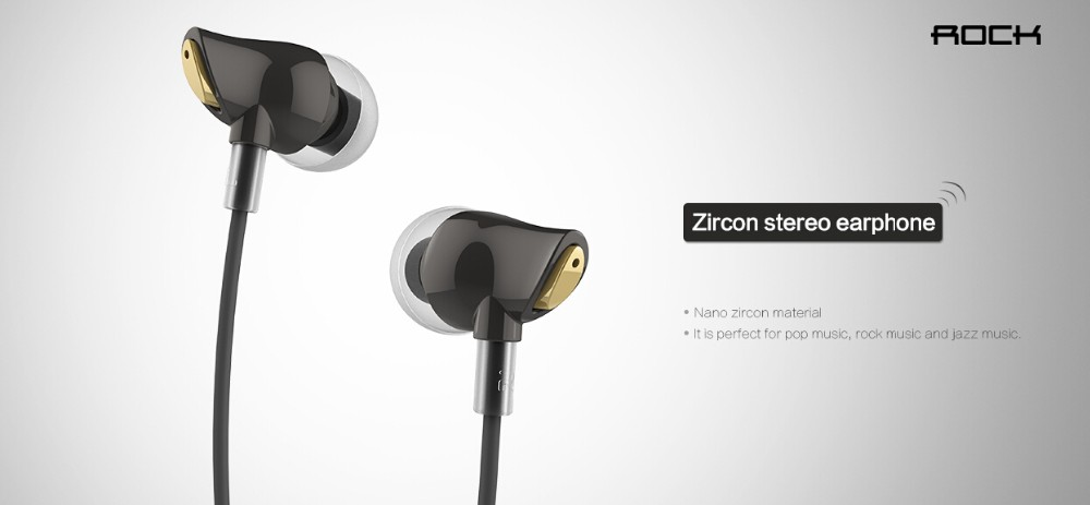 Rock Zircon Stereo Earphone 4