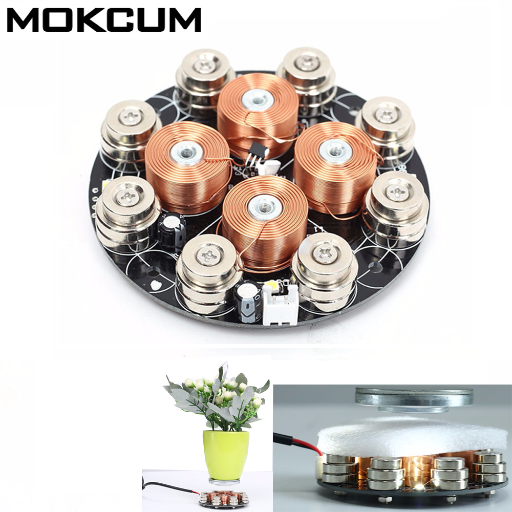 DY 015 DC 5V Magnetic Levitation Module DIY Maglev Furnishing Articles Kit US Plug Magnetic Suspension