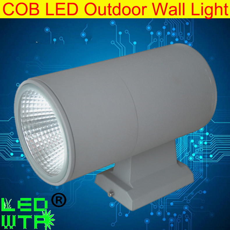Flight Tracker Modern Design 1*20w Ip65 Outdoor Wall Mounted Led Light Cob Up And Down Wall Light Led 2*18w Cob 36w Ac85-265v Led Wall Lamp 3w Attractive Designs;