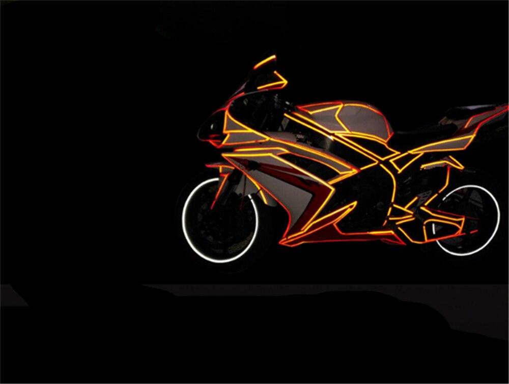 Accesorios de la motocicleta bicicleta coche reflectante Etiqueta de cinta de advertencia de Aprilia RSV4 RSV4 fábrica temblar GT TUONO R TUONO
