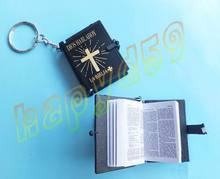 1pcs mini bible keychain