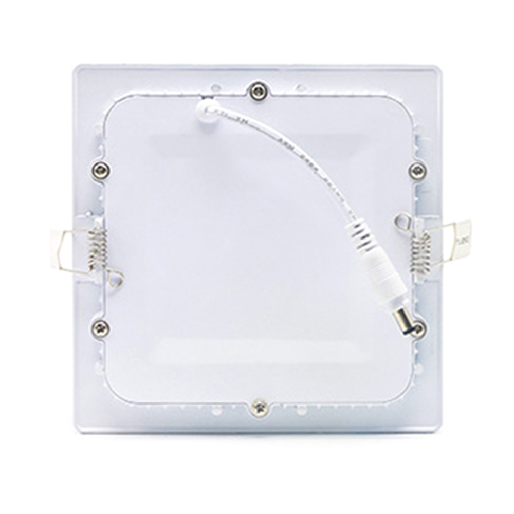 5pcs lot Ultra Thin LED Panel Downlight Round Square Ceiling Recessed Lights AC85 260V Power Supply Included Foyer lighting in Downlights from Lights Lighting