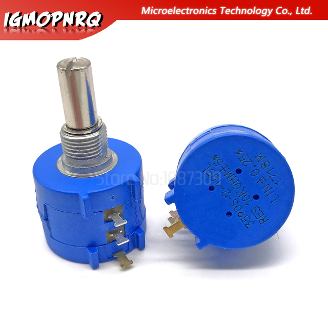 1PCS 3590S series potentiometer 500 1K 2K 5K 10K 20K 50K 100K ohm 3590S-2-103L 3590S 101 102 103 104 201 202 203 501 502 503 1