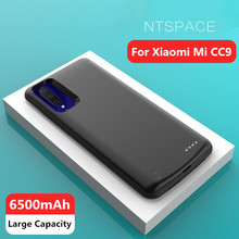 NTSPACE 6500mAh Battery Charger Cases For Xiaomi Mi CC9 Power Bank Cover Battery Case For Xiaomi CC9 External Battery Power Case цена 2017