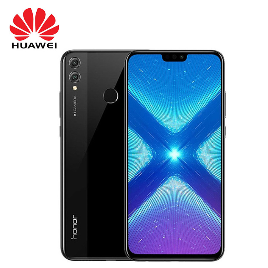 Global Version Huawei Honor 8X Mobile Phone 4GB RAM 64GB ROM 6 5 inch 3750mAh Android