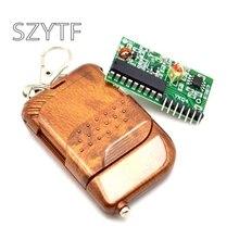 1 conjunto IC 2262/2272 4 CH 315 Mhz Chave Sem Fio Kits de Controle Remoto módulo Receptor
