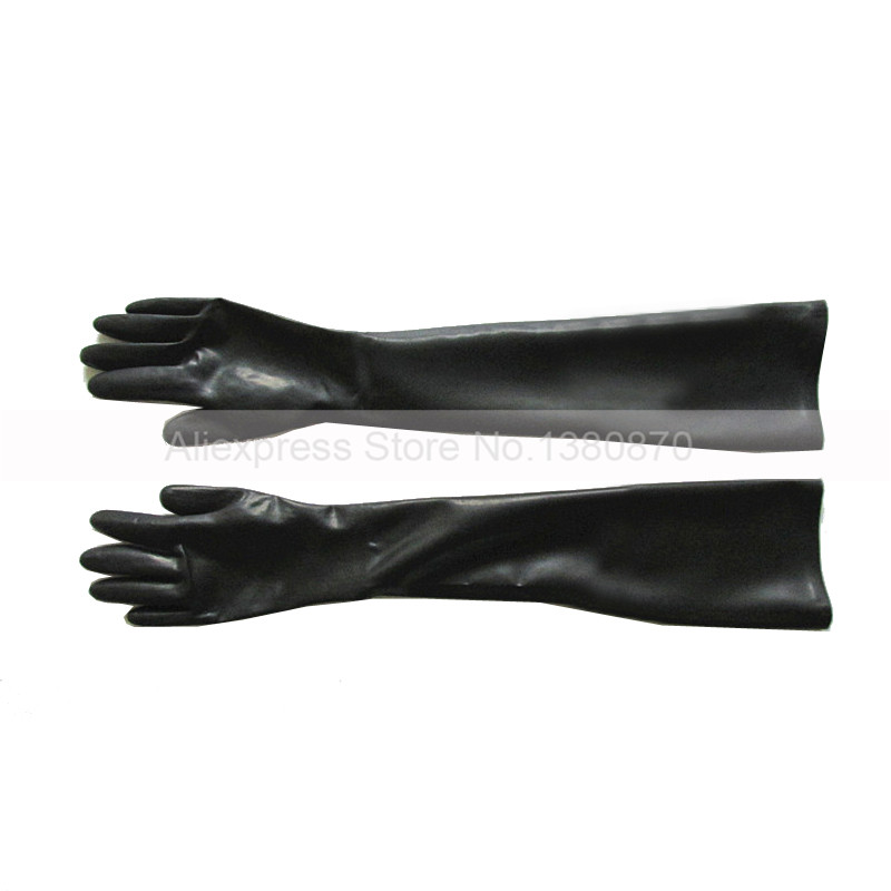 New Hot Women Latex Sexy Fetish Elbow Long Costume Dress Rubber Gloves Size S M L S La106 In Boys Costume Accessories From Novelty Special Use On