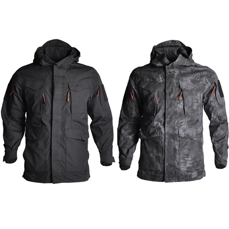 Army Camouflage Men Jacket Coat Military Tactical Jacket Winter Windproof Soft Shell Jackets Windbreaker Hiking Hunting Clothes
