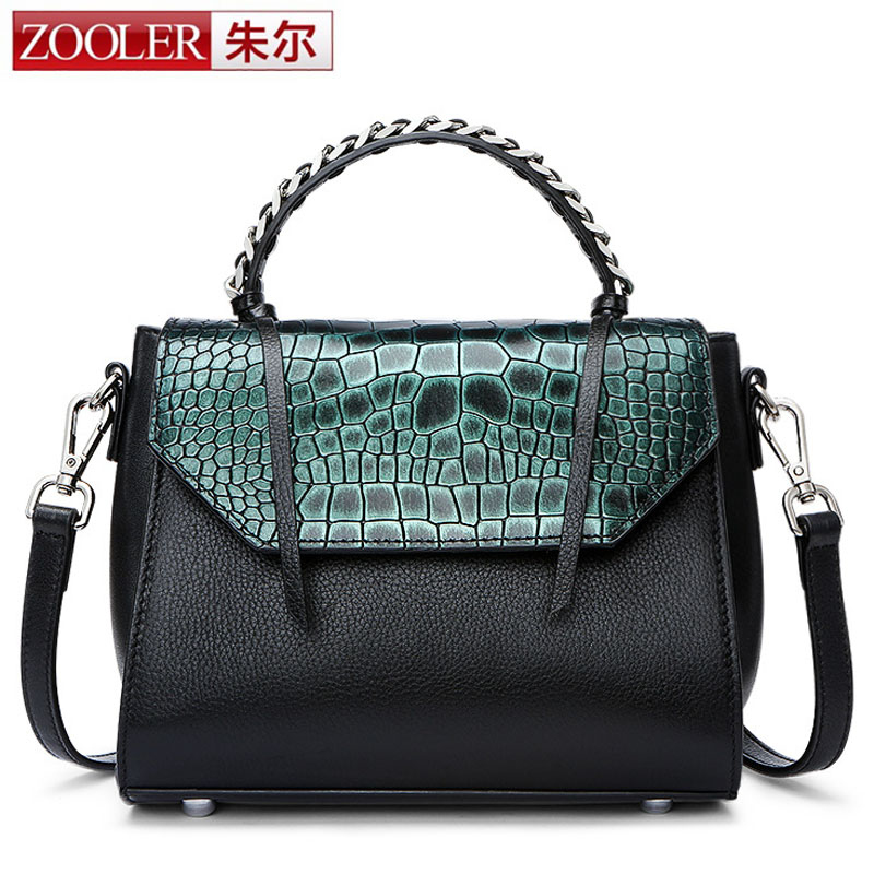 ZOOLER Crossbody Bags for Women New Ladies Messenger Bag Crocodile Genuine Leather Small Shoulder Bag sac a main femme de marque 2016 new women small leather shoulder bags girls crossbody messenger bag ladies handbag and purse femme sac a epaule bolso black