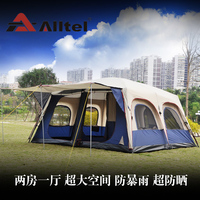 Alltel 6 12 people two bedrooms camping large tent outdoor Anti storm