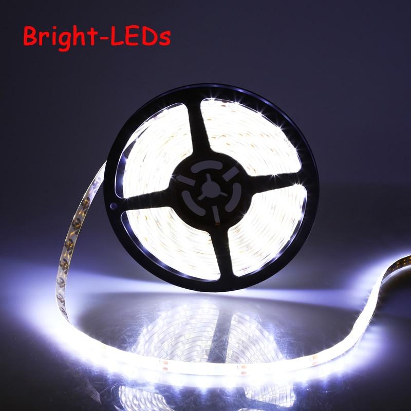 Flexible Led Light Strip 3528 Smd 12 Volt Quality Lighting: Promotion Waterproof LED Strip SMD3528 LED 5M 60leds/m