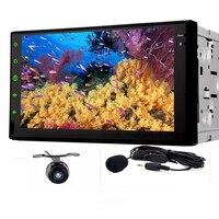 Universal 7inch 2 Din android 8.1Radio HD In Dash Car DVD Player Bluetooth Touch Screen FM Autoradio DVD USB/SD Port MP3/MP4/MP5