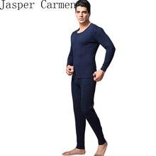 Бесплатная доставка Лучшее качество марка Серый мужчины Тепловые underwear кашемир о-образным вырезом лонг джонс брюки termico 23hfx