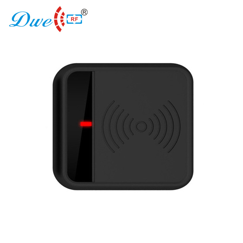DWE CC RF access control card reader smartkey proximity reader black plastic rf id wall reader цена и фото