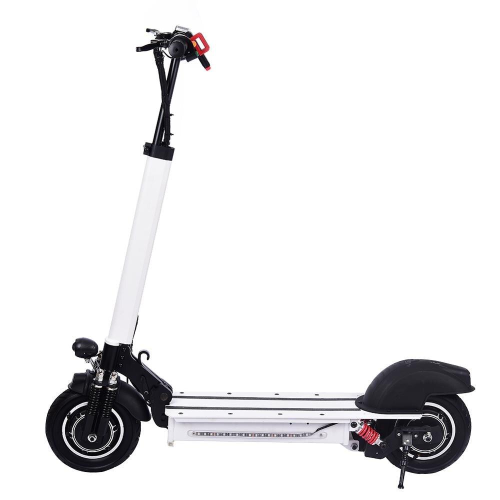 10 pouces Scooter électrique 48 V/22AH 60 km/h 1200 W alliage d'aluminium charge moto électrique coup de pied auto équilibrage Scooter adulte - 4