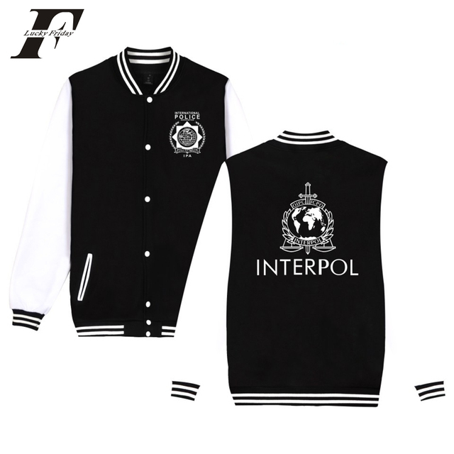 a34a329618ffd LUCKYFRIDAYF 2017 INTERPOL Punk Band jaqueta feminina Sweatshirts Men women  baseball jacket Hip hop casaco feminino Coats 4xl