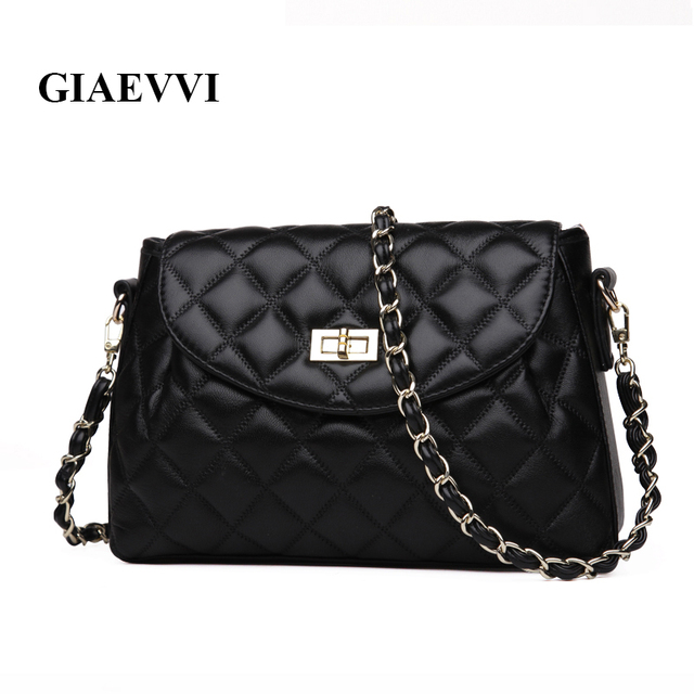 GIAEVVI ladies luxury handbags women messenger bags fashion shoulder bag genuine leather handbag cross body designer handbags